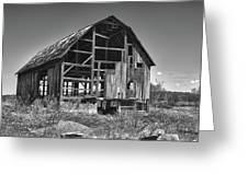 Rt 16 Barn 1302a Greeting Card