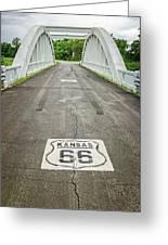 Rt. 66 Rainbow Bridge Greeting Card