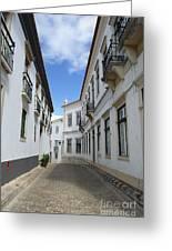 Rua Do Aljube Greeting Card
