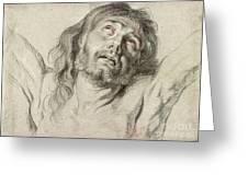 Rubens, Christ.  Greeting Card