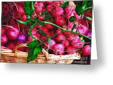 Rubies Organic Greeting Card