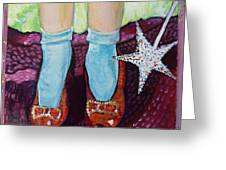 Ruby Slippers Greeting Card