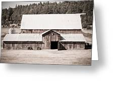 Ruckle Barn Greeting Card