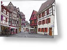 Rue Du Chasseur Greeting Card