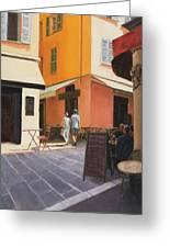 Rue En Nice Greeting Card