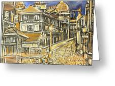 Rue Lepic Greeting Card