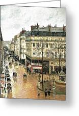 Rue Saint Honore Greeting Card