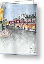 Rue St. Louis Greeting Card