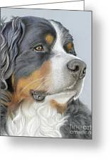 Regal And Relaxed Greeting Card