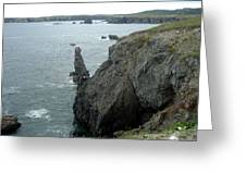 Rugged Coastline  Greeting Card