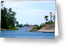 Rugged Little Islands 3  Greeting Card