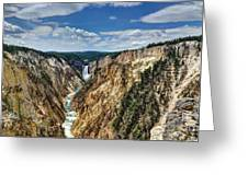 Rugged Lower Yellowstone Greeting Card