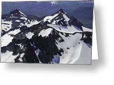 Rugged Mountain Peaks Greeting Card