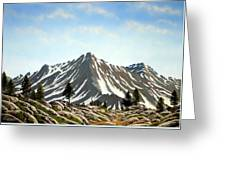 Rugged Peaks Greeting Card