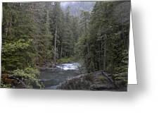Rugged River Greeting Card