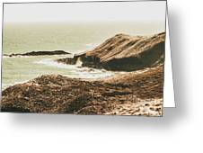 Rugged Rocky Cape Greeting Card