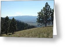 Rugged Serenity Greeting Card