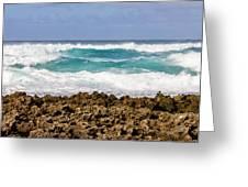 Rugged Shores Greeting Card