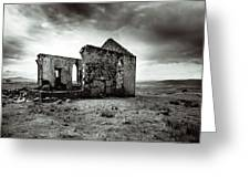 Ruin  Of A Church On The Island Of Skye, Scotland Greeting Card