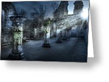 Ruins Of Abbey Greeting Card