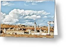 Ruins Of Delos Greeting Card