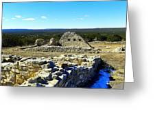 Ruins Of Gran Quivira  Greeting Card