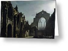 Ruins Of Holyrood Chapel Greeting Card
