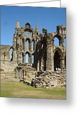 Ruins Of Whitby Abbey Greeting Card