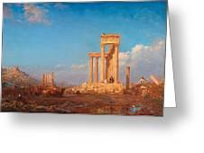 Ruins. Palmyra Greeting Card