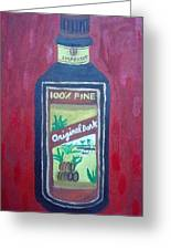 Rum Greeting Card