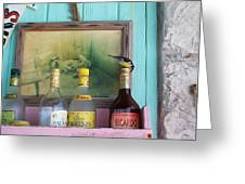 Rum Shack Bananaquit Greeting Card