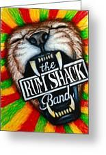 Rum Shack Roaring Lion Greeting Card