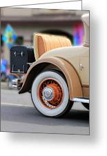 Rumble Seat Greeting Card