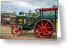 Rumley Oil Pull Tractor Greeting Card