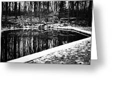 Runeberg's Fountain Greeting Card