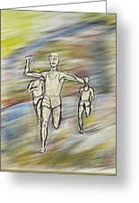 Runners Greeting Card