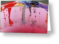 Running Colors Greeting Card by Danielle Allard