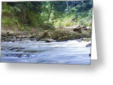 Running Water Greeting Card