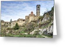 Rupit I Pruit In Catalonia Greeting Card