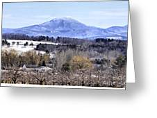 Rural Beauty Vermont Style Greeting Card