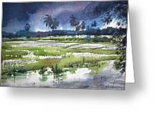 Rural Bengal 5 Greeting Card