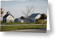 Rural Farm Central Il Greeting Card