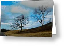 Rural Landscape - Skyline Drive Greeting Card