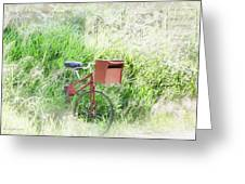 Rural Mailbox Greeting Card