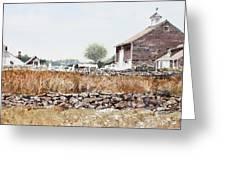 Rural Maine Greeting Card