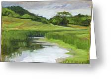 Rural Marsh Greeting Card