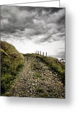 Rural Path Greeting Card