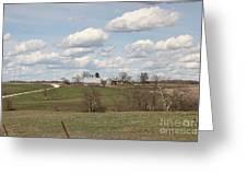 Rural Randolph County Greeting Card