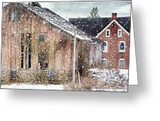 Rural Relic Greeting Card