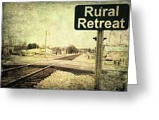 Rural Retreat Greeting Card
